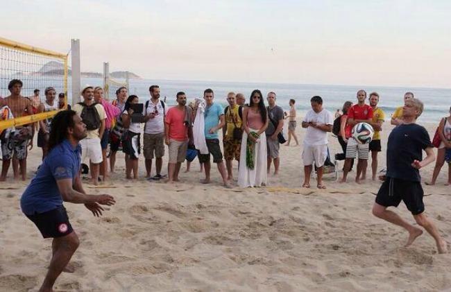 127 Hot Sport: Arsen uživa u čarima Brazila
