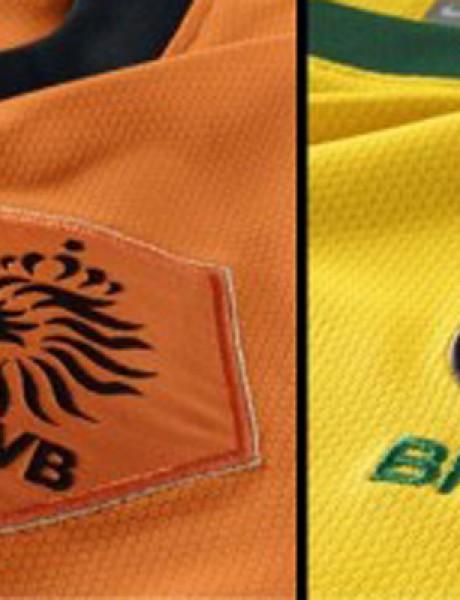 Holandija i Brazil u meču za treće mesto