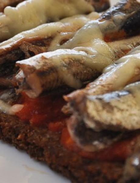 Muške bruskete sa sardinama