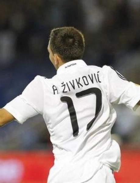 Živković ostaje u Partizanu, ali do januara?