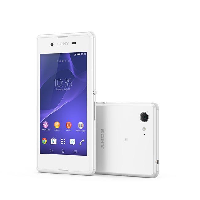 01 XperiaE3 White Group 72dpi Brzi pametni telefoni i najlakši kompaktni tablet na svetu