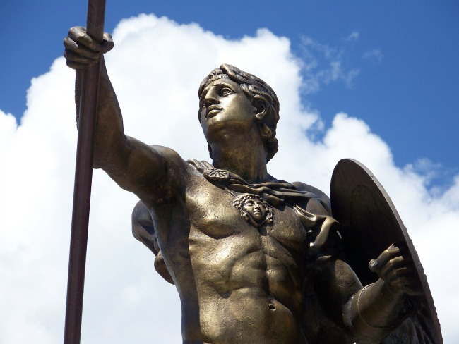 aleksandar makedonski Zamisli sebe kao vojskovođu