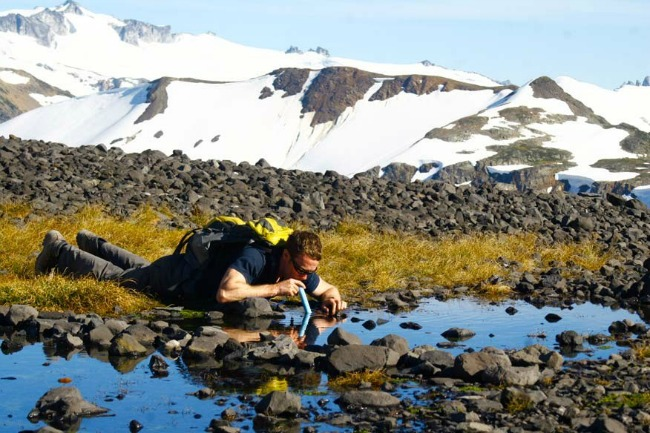 filter za vodu u prirodi Lifestraw: Lični prečišćivač vode