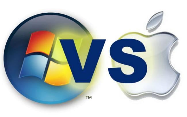 Apple vs. Microsoft1 Majkrosoft fanovi vs Epl fanovi