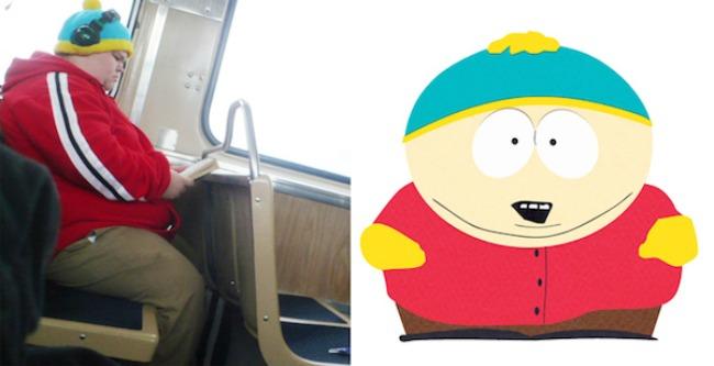 Cartman and this kid that looks exactly like him1 Najbizarnije sličnosti koje ste videli do sad