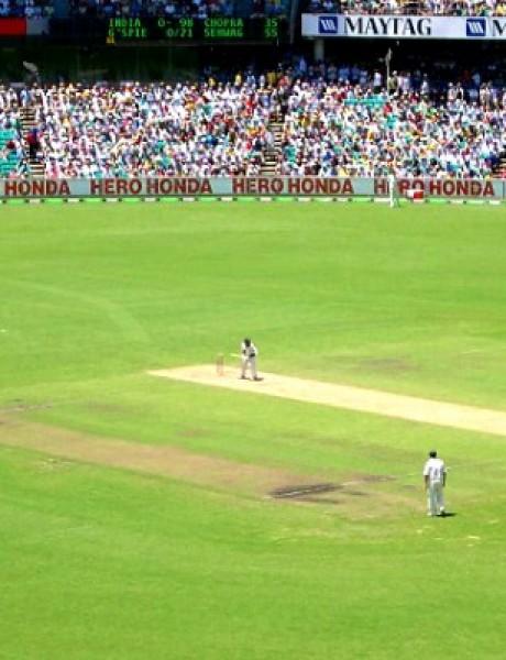 Da li ste nekada igrali kriket?