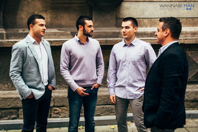 Intervju 4 2 3 Wannabe Man Intervju: CreITive   Veljko Vasić, Nenad Latković, Nemanja Timotijević, Dragan Stević