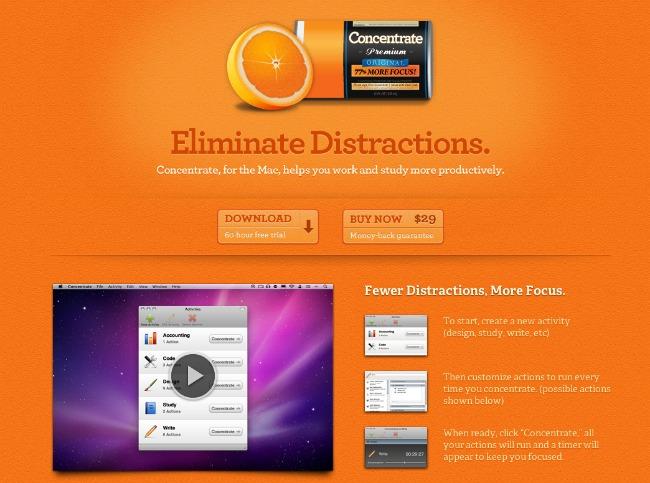 concentrate1 Aplikacije koje će vam srediti život