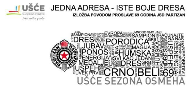 image001 2 Izložba Partizanovih dresova u Ušću