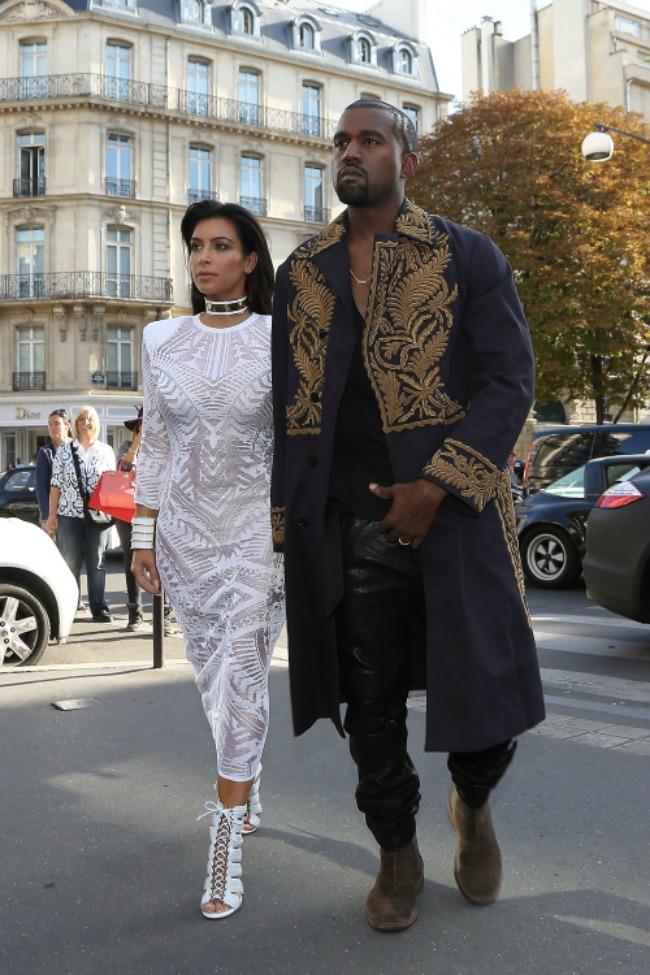 kanje vest 10 odevnih kombinacija sa nedelje mode u parizu balmain1 Kanje Vest: 10 odevnih kombinacija sa Nedelje mode u Parizu