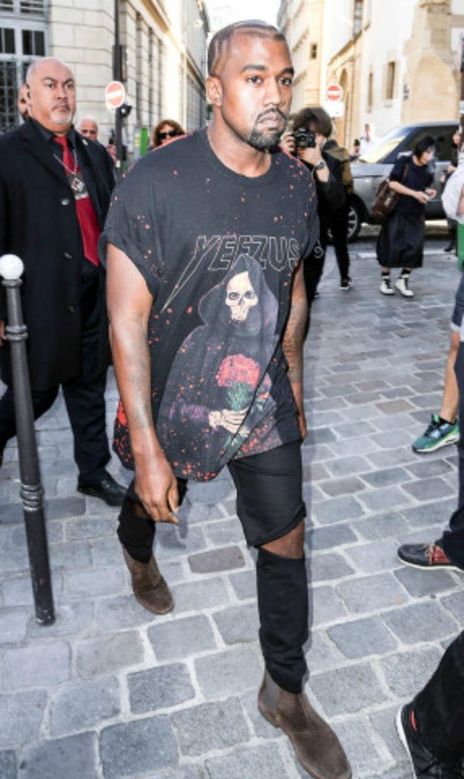 kanje vest 10 odevnih kombinacija sa nedelje mode u parizu hajder akerman Kanje Vest: 10 odevnih kombinacija sa Nedelje mode u Parizu