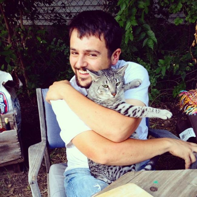 mačke77 Muškarci koji vole mačke