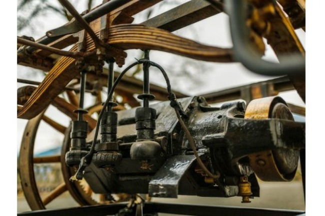 motor poršea1 Kako je izgledao prvi model Poršea