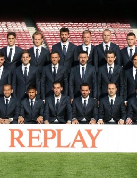 Modna vest: Nova kolekcija brenda Replay za fudbalere FK Barselone