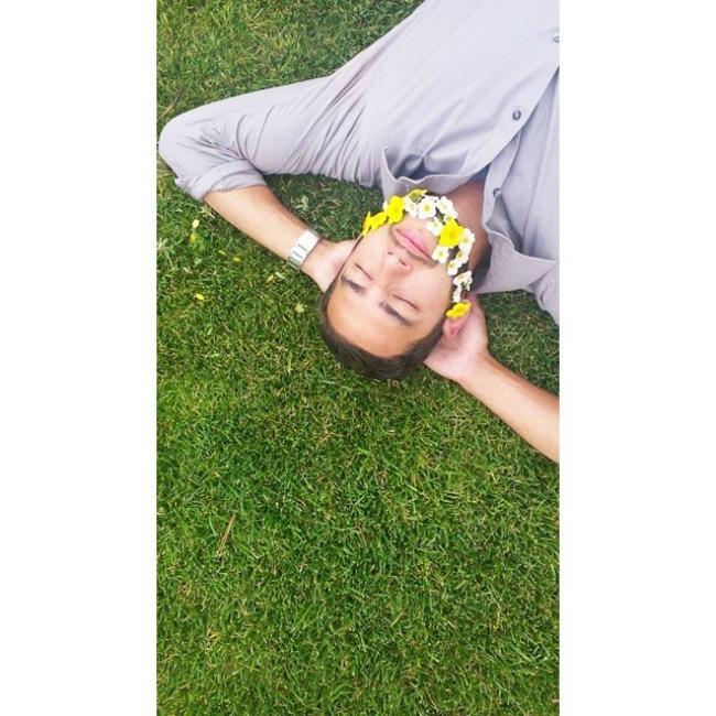 cvece u bradi 3 Novi Instagram trend: Cveće u bradi