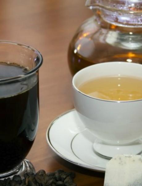Šta je bolje kafa ili čaj?