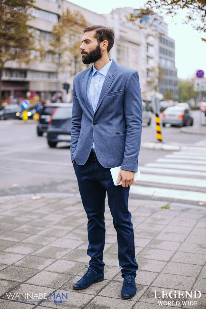 Legend in the city fashion predlog wannabeman 9 2 Legend modni predlog: Plavi decembar