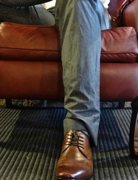 Džentlmen da budem: Džentlmen u javnoj perionici rublja