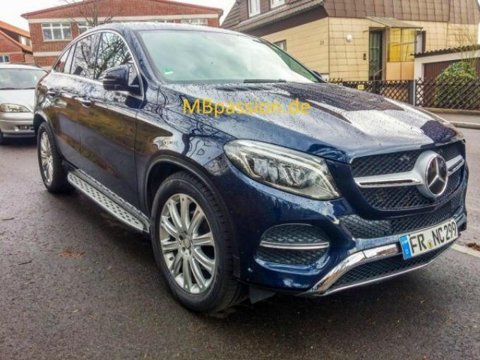 mercedes1 wannabeman Mercedes GLE bez kamuflaže