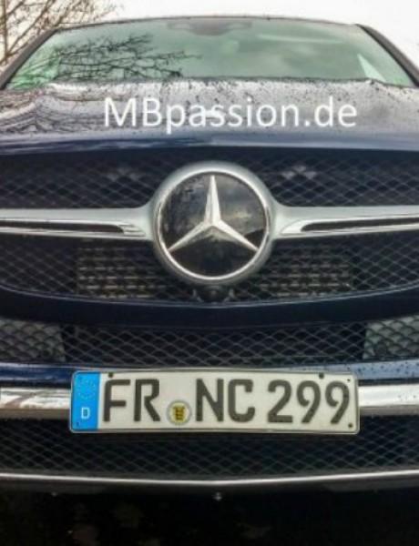 Mercedes GLE bez kamuflaže