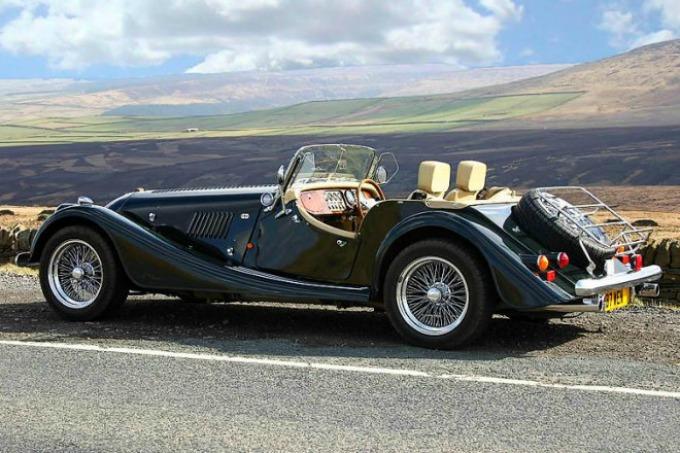morgan plus 8 wannabeman Najbolji britanski automobili