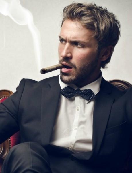 Džentlmen da budem: Džentlmen i cigarete