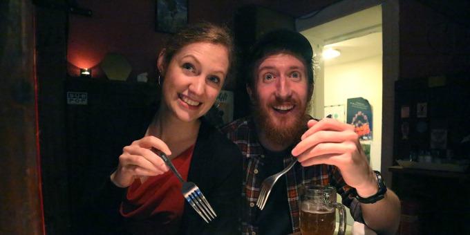 1Matthew Youlden British and Irish food Dečko sa bradom koji govori devet jezika