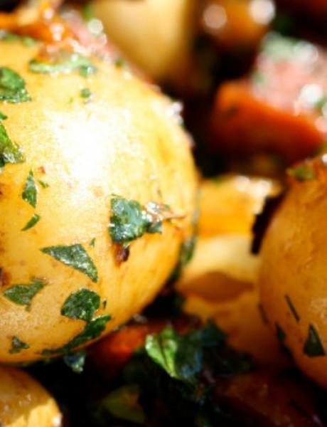 Krompir-salata sa kulenom