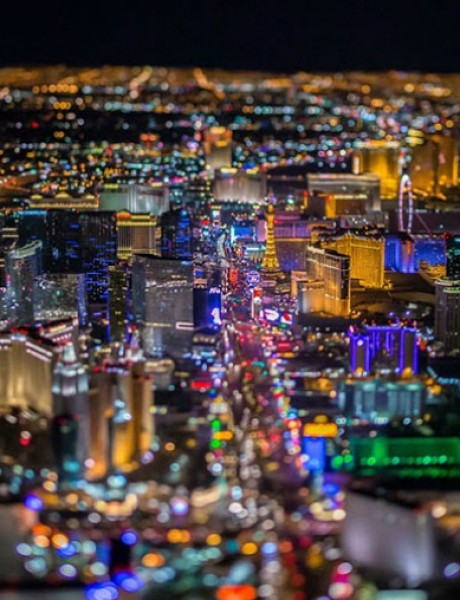 Las Vegas iz ptičje perspektive
