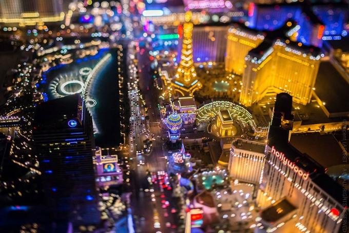 Las Vegas iz ptičje perspektive 2 Las Vegas iz ptičje perspektive