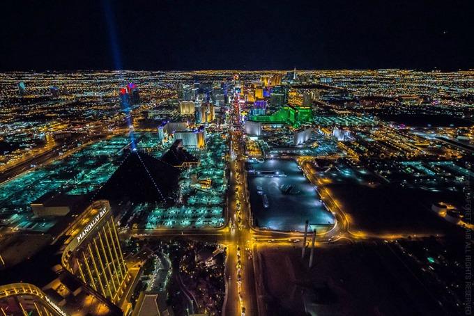 Las Vegas iz ptičje perspektive 3 Las Vegas iz ptičje perspektive