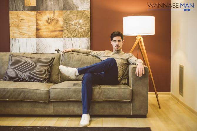 Muski modni predlog Wannabe man 4 Modni predlog: Opuštena kombinacija za šetnju