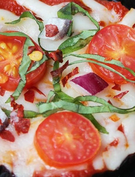 Recept: Mini pizze od patlidžana