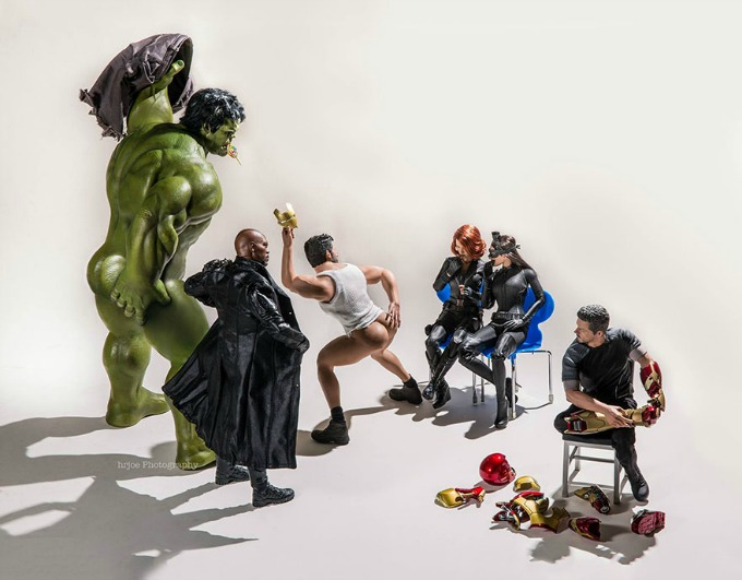 Superheroji kao sav normalan svet 6 Superheroji kao sav normalan svet