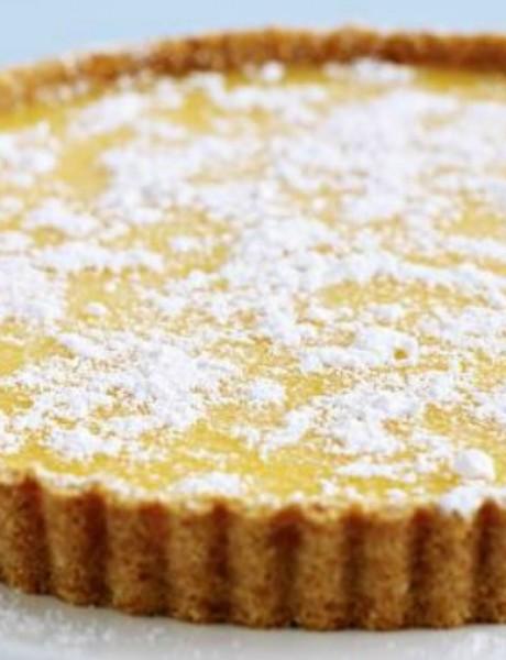Desert: Biter lemon tart