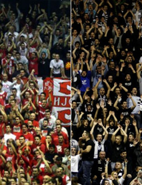 Crvena zvezda i Partizan igraju bez podrške navijača