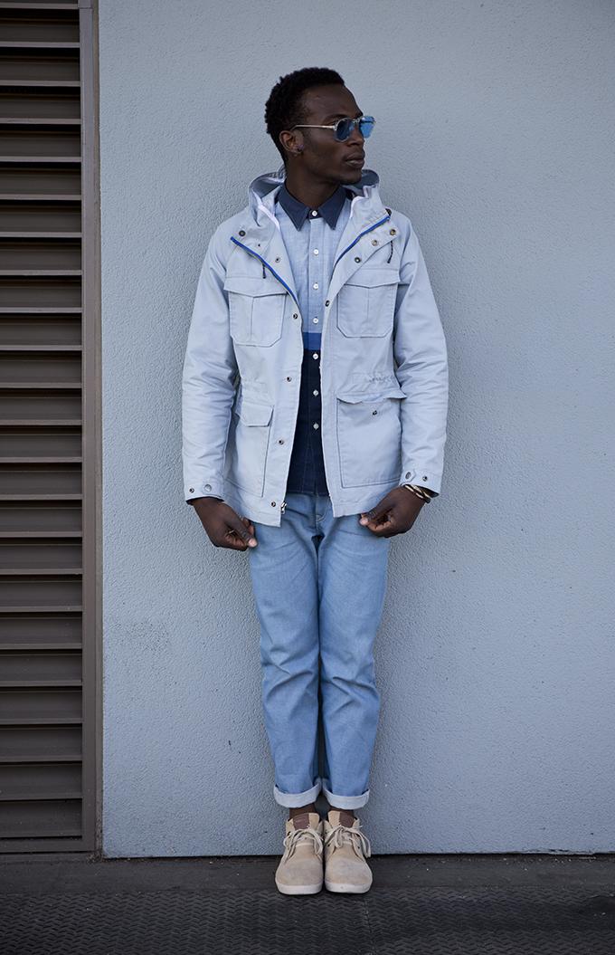 Look01 Parka Z5A5585 501R CT Jeans   Levis prolećna kolekcija
