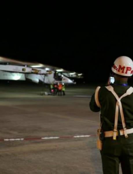 Solarni avion sleteo u Kinu