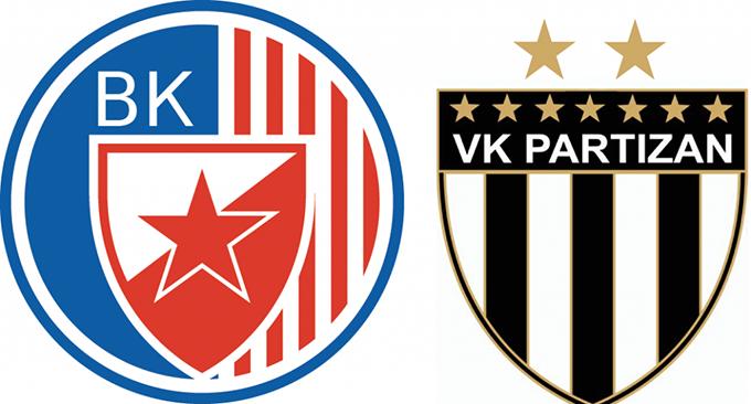 VK Crvena zvezda VK Partizan LOGO 1024x551 PLEJ OF: Brejk Partizana ili finale Zvezdi?