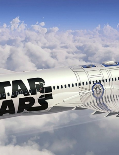 """Putuj """"Star Wars"""" avionom!"""