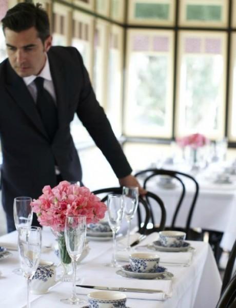 Džentlmen da budem: Džentlmen i pribor za jelo