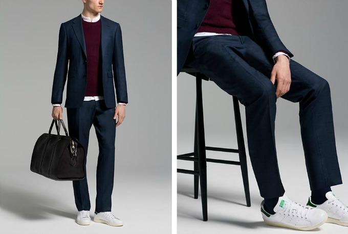 patikeodelo2 Novi modni trend: Odelo i patike