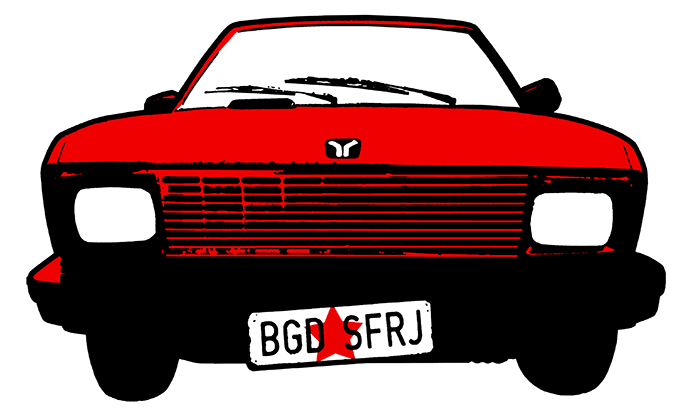 Car Only Nova atrakcija za turiste, Beograd sa zadnjeg sedišta Yuga