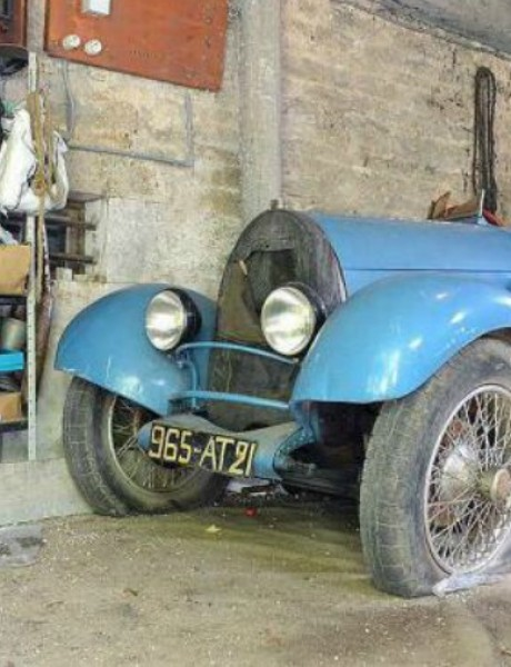 Bugatti pronađen u ambaru u Francuskoj