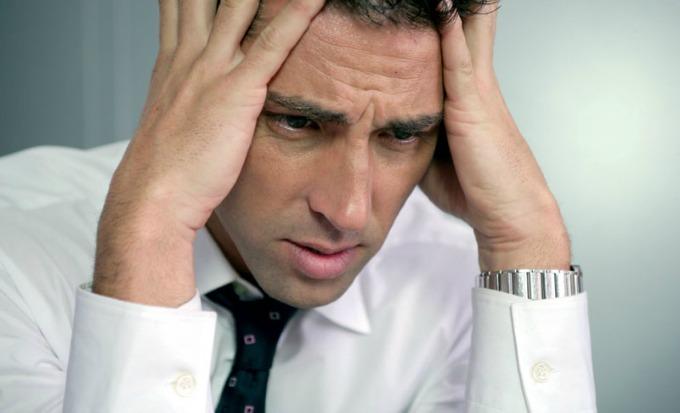 glavobolja Pet pokazatelja muškog stresa