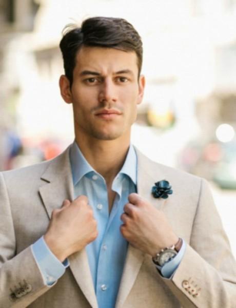Rancco modni predlog: Laneni sako za tople dane