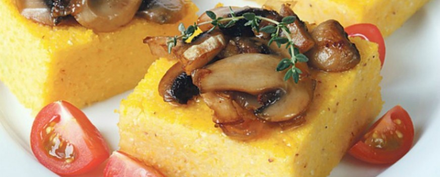 Recept: Krem palenta sa divljim pečurkama