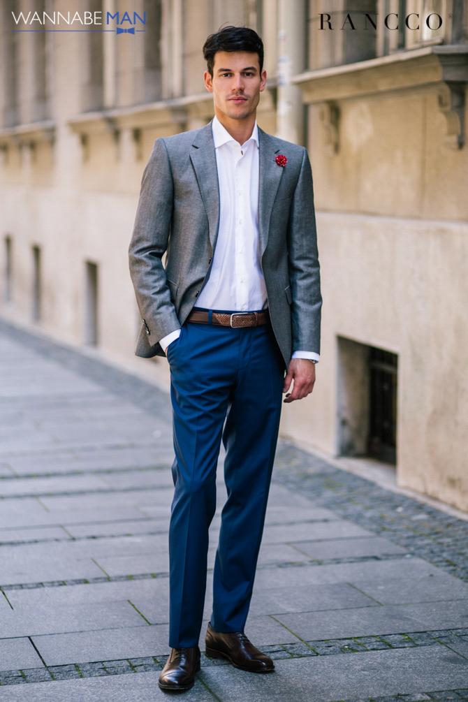 Rancco modni predlog Wannabe magazine 26 Rancco modni predlog: Sivi laneni sako