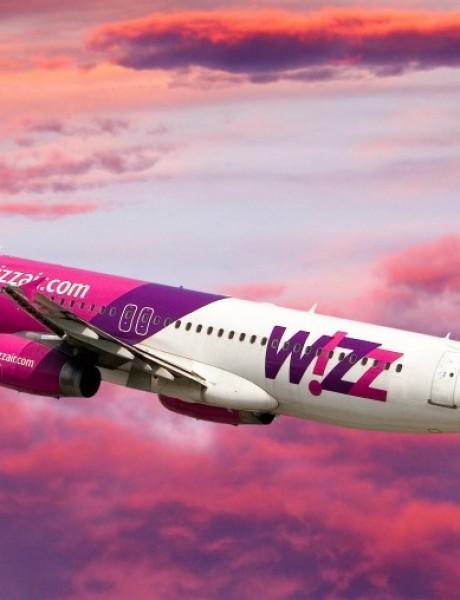 Wizz air na mobilnom telefonu