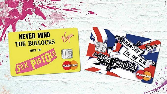 kartica sex pistols Sex Pistols na kreditnim karticama
